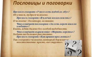 Пословицы и поговорки про качества человека