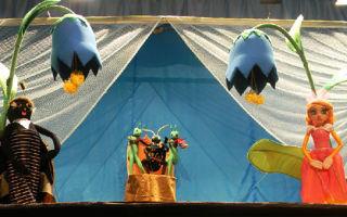 Кукольный спектакль по сказке «дюймовочка». сценарий на новый лад