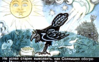 Солнце, месяц и ворон воронович. сказка