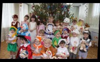 Сценарий новогоднего утренника для младшей группы детского сада