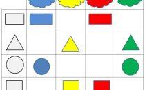 Конспект нод по математике в детском саду в старшей группе на тему: геометрические фигуры