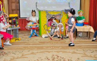 Театрализованное представление в лагере для младших школьников. сценарий
