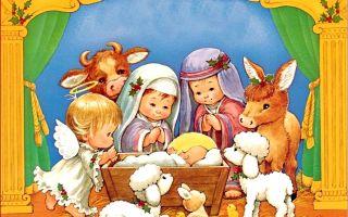 Про рождество христово детям