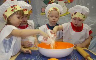 Конкурсная программа поварята для старших дошкольников в детском саду