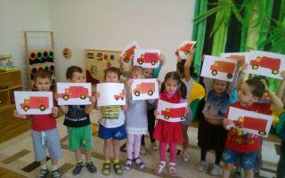 Конспект занятия по пожарной безопасности в детском саду в старшей группе