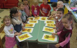 Конспект занятия в детском саду в подготовительной группе. рисование овала и полуовала