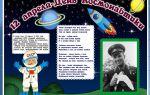 Сценарий ко дню космонавтики 12 апреля для учащихся 4 класса