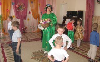 Весеннее развлечение в старшей группе детского сада