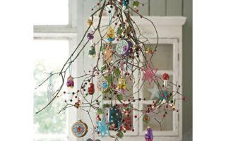 Украшение интерьера на новый год своими руками из подручных материалов
