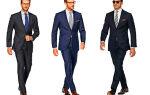 Как правильно носить костюм