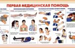 Как оказать первую медицинскую помощь