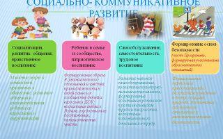 Занятие по социально – коммуникативному развитию и социальному воспитанию в старшей группе