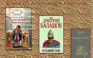 Тихомиров «слово о походах александра невского»