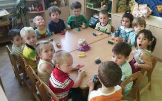 Конспект занятия в детском саду во 2 младшей группе. мебель