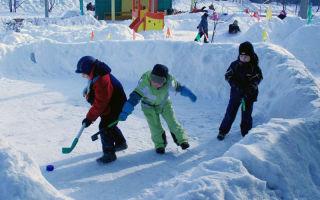 Игры для детей зимой