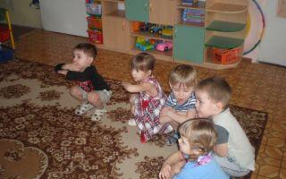 Игры ситуации во второй младшей группе