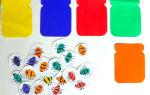 Игры на изучение цвета для детей 2, 3 лет