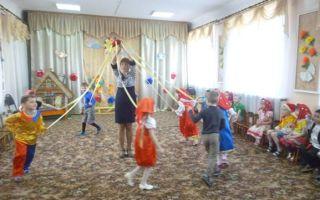 Сценарий музыкального развлечения для детей старшей группы в детском саду