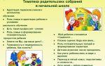 Родительское собрание в начальной школе на тему: новый год для детей