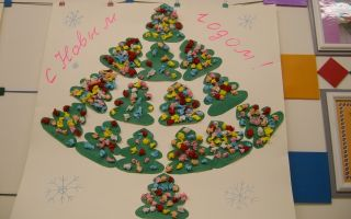 Конспект занятия в средней группе детского сада на новогоднюю тематику