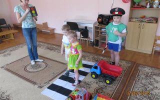 Развлечение по пдд в детском саду для детей средней группы