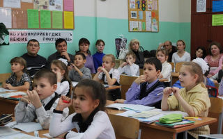 Конкурсная программа для начальных классов, 1-2 класс