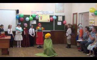 Инсценировка сказки в начальной школе. сценарий