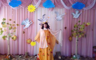 Театральное представление в детском саду на тему: осень. сценарий