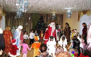 Сценарий новогоднего праздника для детского сада. подготовительная группа