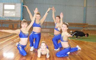 Аэробика для детей 7-10 лет