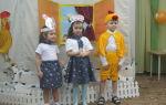 Инсценировка сказки «колосок»в старшей группе детского сада