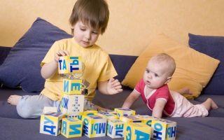 Обучение детей через игру в кубики