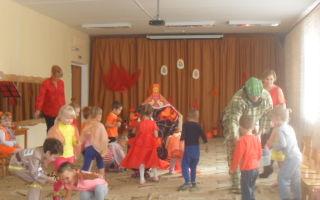 Фольклорный праздник для детей младшей группы. сценарий