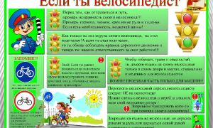 Беседа по пдд в начальной школе. правила для велосипедистов