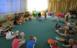 Сценарий спортивного досуга для детского сада. младшая группа