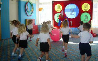 Весенний физкультурный досуг в младшей группе детского сада
