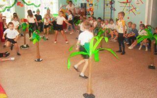 Спортивный праздник в подготовительной группе детского сада