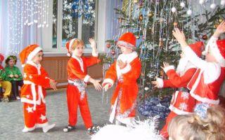 Новый год. сценарий новогоднего утренника для подготовительной группы детского сада