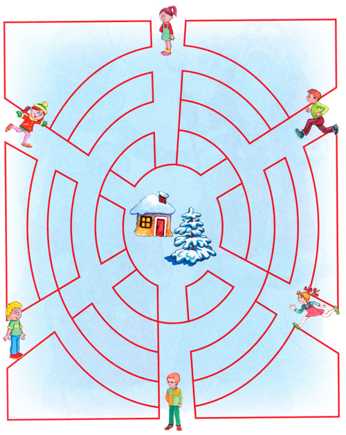 Новогодние задания для детей 4, 5, 6 лет - Педагог